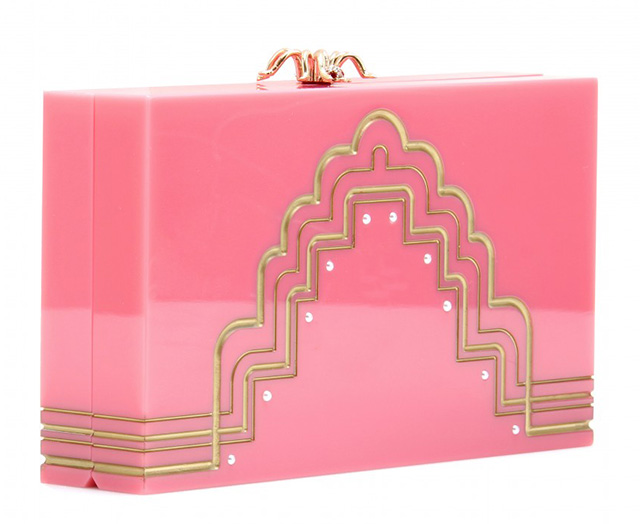 Charlotte Olympia Pandora Deco Box Clutch