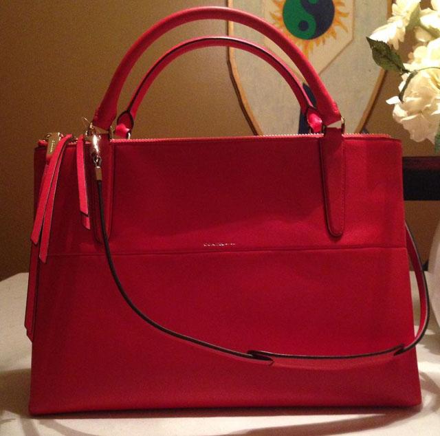 Coach Borough Bag Red