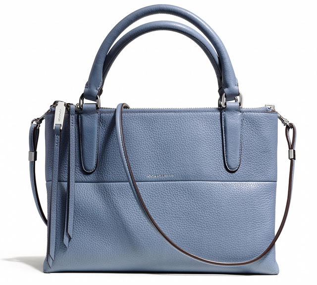 Coach Mini Borough Blue
