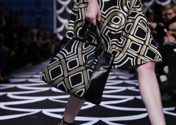 Diane von Furstenberg Fall 2014 Print Bag