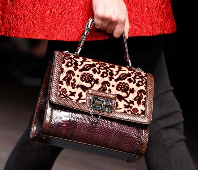 Dolce and Gabbana Fall 2014 Handbags 28