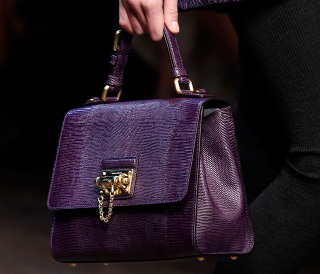 Dolce and Gabbana Fall 2014 Handbags 29