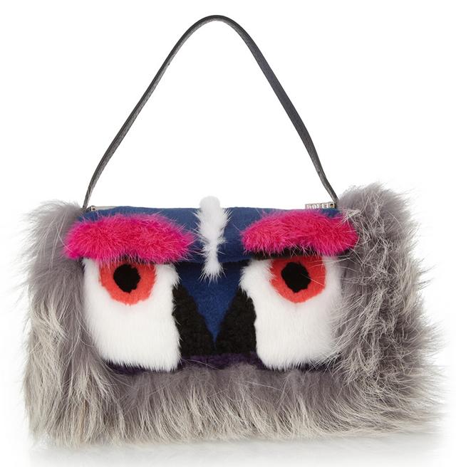 Fendi Owl Baguette