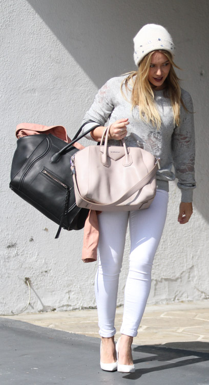 Hilary Duff Givenchy Antigona Celine Luggage Tote-2