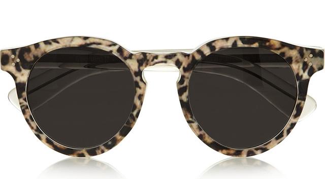 Illesteva Leonard Leopard Print Sunglasses