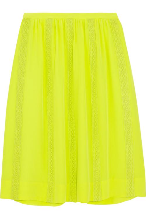 J.Crew Collection Silk Crepe Skirt