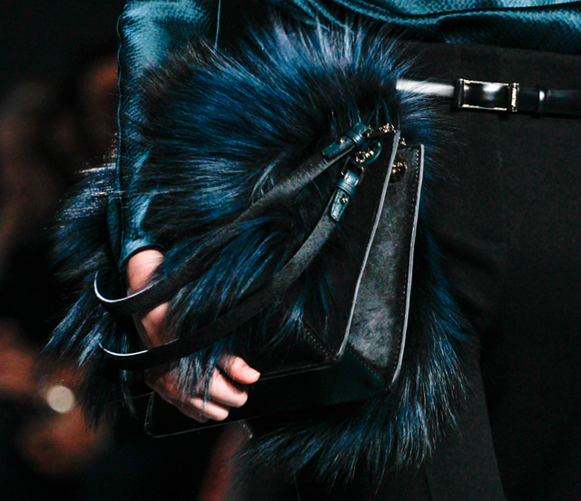 Jason Wu Fall 2014 Fur Shoulder Bag