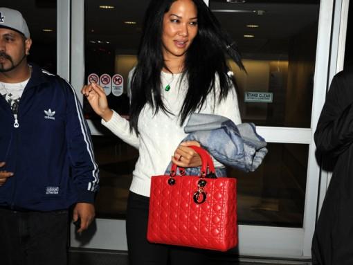 Kimora Lee Simmons Dior Lady Dior Bag