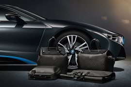 Many Bag Monday: Louis Vuitton x BMW i8 Limited Edition Carbon Fiber Luggage
