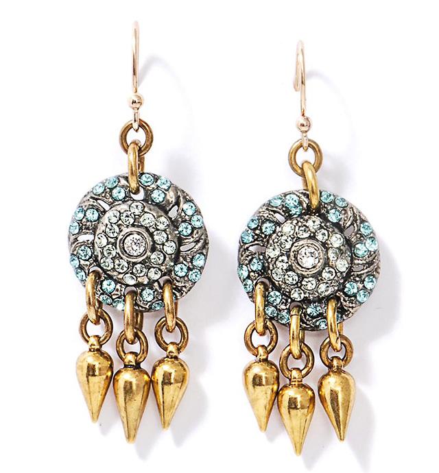 Lulu Frost Audrey Sea Earrings