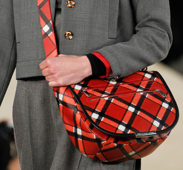 Marc by Marc Jacobs Fall 2014 Plaid Shoulder Bag