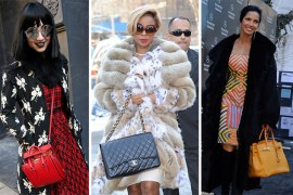 50+ Bags and the Celebrities Who Carried Them at New York Fashion Week Fall 2014