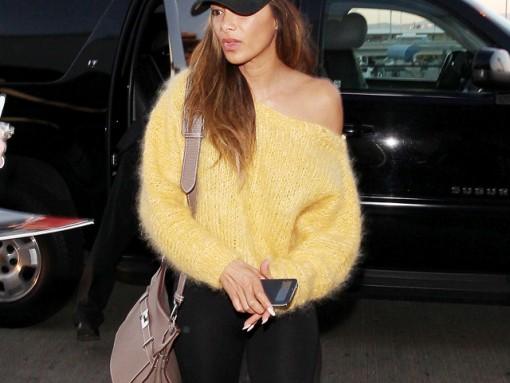 Nicole Scherzinger Hermes Jypsiere Bag