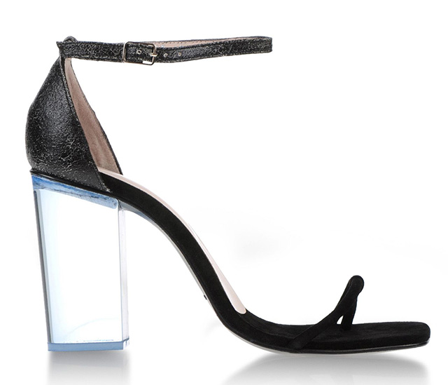 Opening Ceremony Lucite Heel Sandal