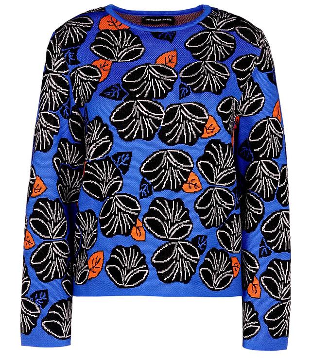 Ostwald Helgason Printed Long Sleeve Sweater