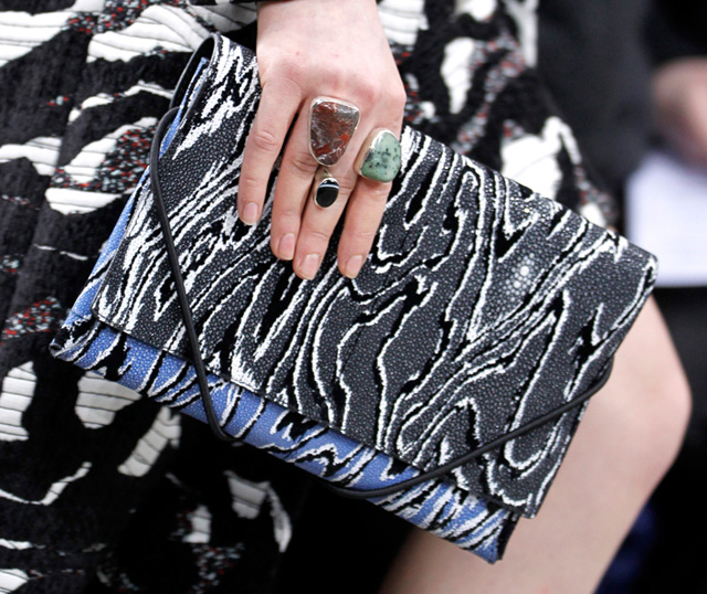 Proenza Schouler Fall 2014 Printed Clutch