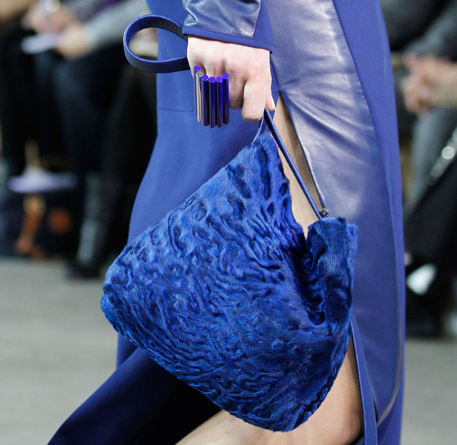 Reed Krakoff Fall 2014 Astrakhan Krush Bag