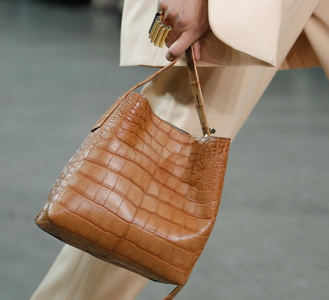 Reed Krakoff Fall 2014 Crocodile Krush Bag