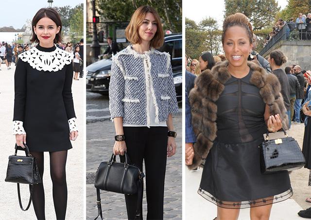 Spring 2014 Fashion Week Street Style Bags