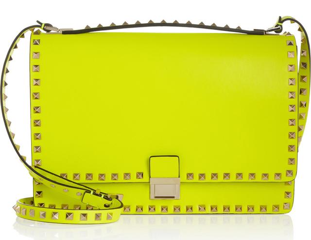 Valentino Rockstud Flap Shoulder Bag