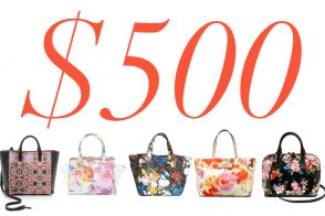 5 Under $500 – Floral Bags