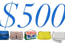 5 Under $500: Mini Flap Bags