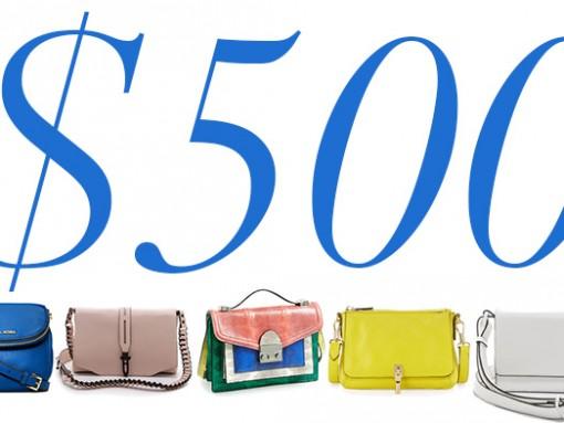 5 Under 500 Mini Flap Bags