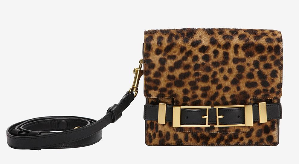 ALC Davenport Leopard Crossbody Bag