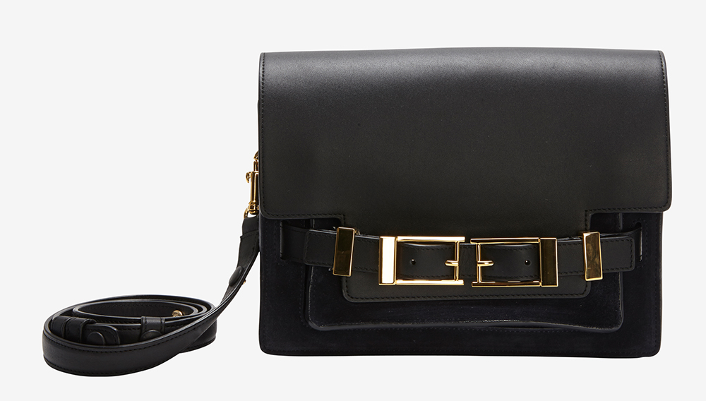 ALC Hutton Shoulder Bag Black