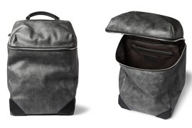 Man Bag Monday: The Alexander Wang Wallie Washed-Leather Backpack