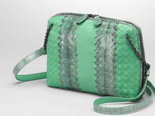 Bottega Veneta Intrecciato Nappa Ayers Messenger Bag
