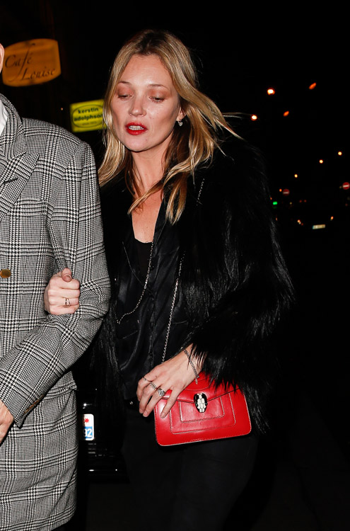 Celebrity Handbags at Paris Fashion Week Fall 2014-1