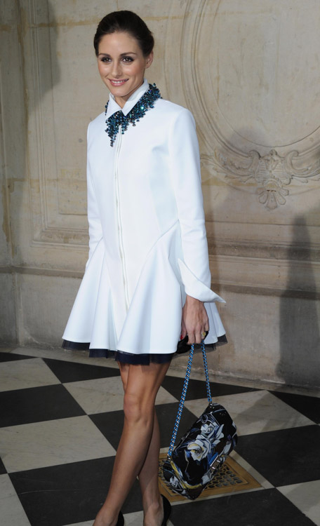 Celebrity Handbags at Paris Fashion Week Fall 2014-16