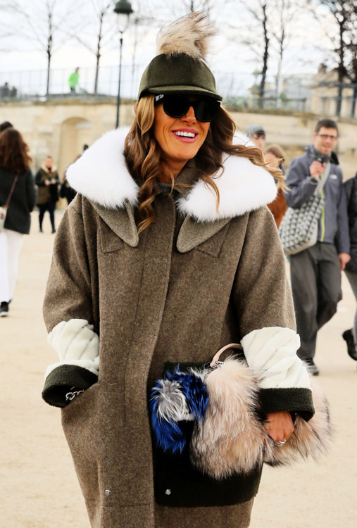 Celebrity Handbags at Paris Fashion Week Fall 2014-21