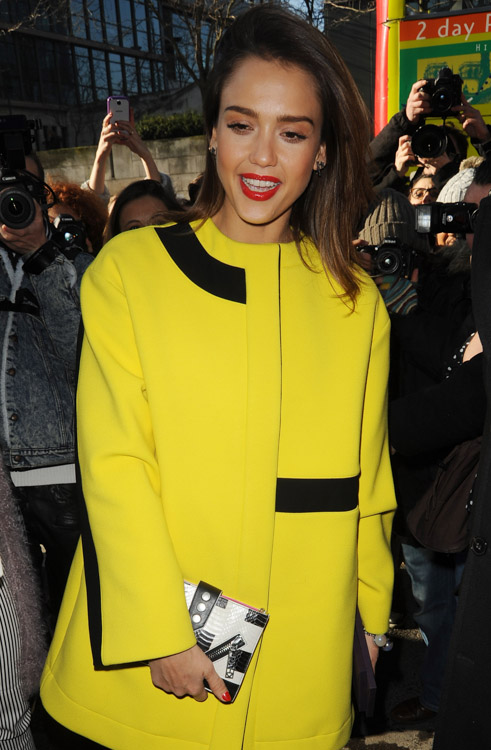 Celebrity Handbags at Paris Fashion Week Fall 2014-24
