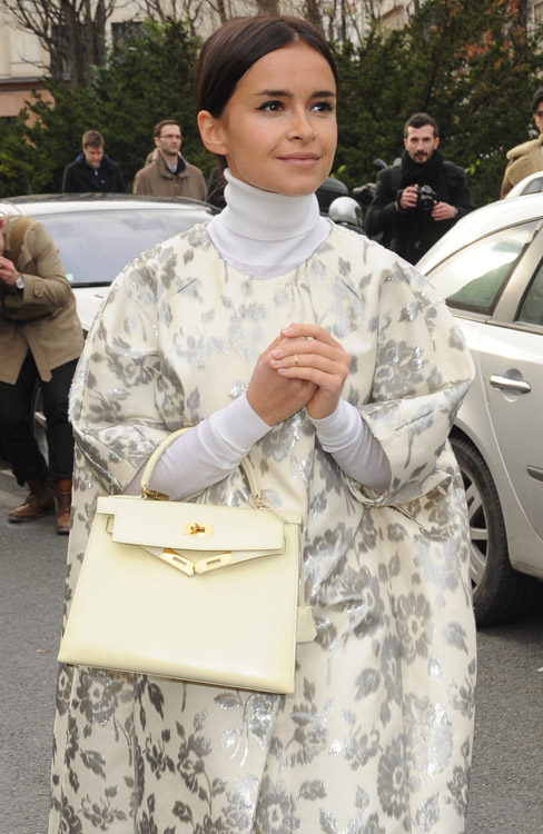 Celebrity Handbags at Paris Fashion Week Fall 2014-26
