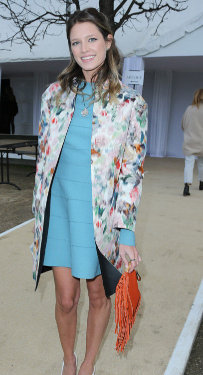 Celebrity Handbags at Paris Fashion Week Fall 2014-55