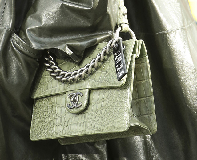 Chanel Fall 2014 Crocodile Handbags