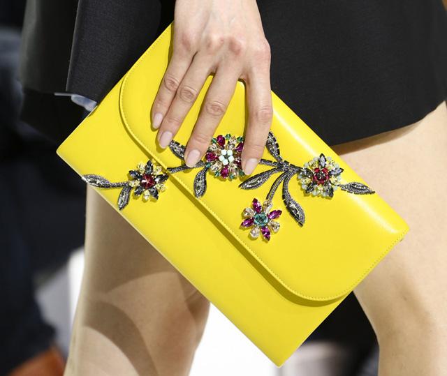 Christian Dior Fall 2014 Jeweled Clutch