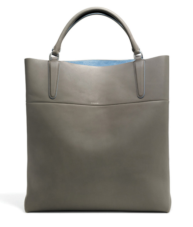 Coach Bonded North-South Town Tote