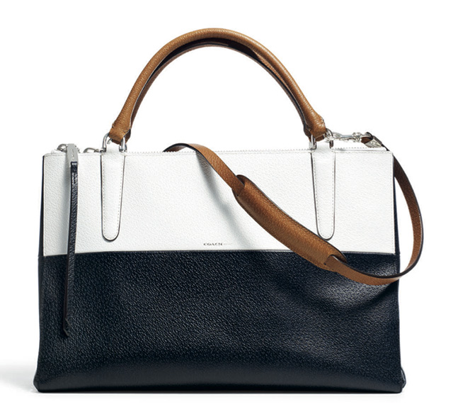 Coach Retro Boarskin Colorblock Borough Bag