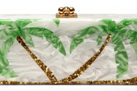 Dream of Sunshine with the Edie Parker Palms Clutch