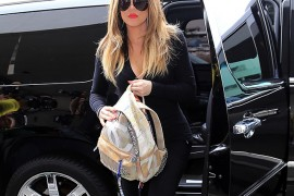 Of Course a Kardashian Owns the Chanel Graffiti Backpack