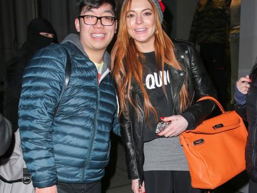 Lindsay Lohan Hermes Soft Kelly