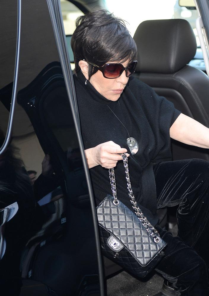 Liza Minnelli Chanel Classic Flap Bag 1