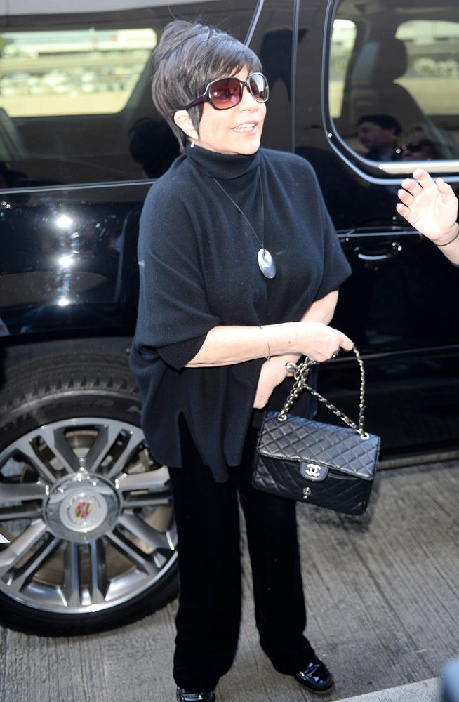 Liza Minnelli Chanel Classic Flap Bag 2