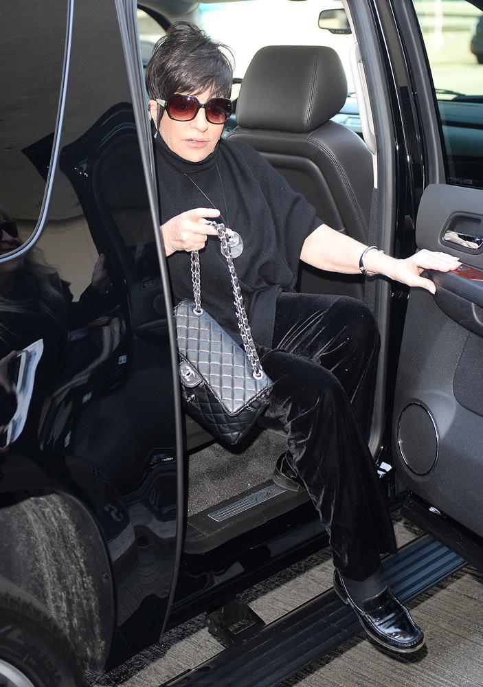 Liza Minnelli Chanel Classic Flap Bag 4