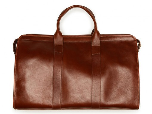 Lotuff Leather Travel Duffel Bag