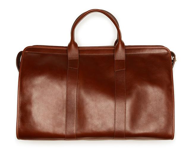 Lotuff Leather Travel Duffel Bag