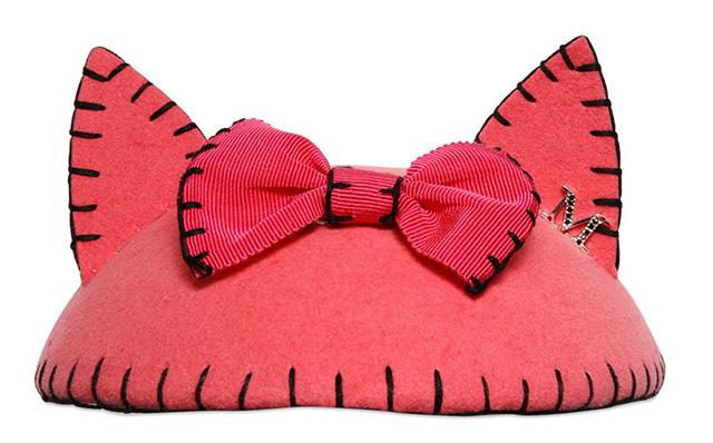 Maison Michel Bibi Yoko Rabbit Felt Hat